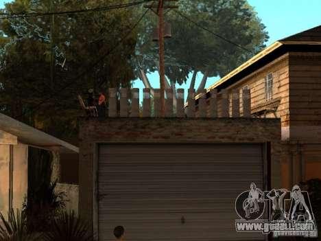 The New Grove Street for GTA San Andreas forth screenshot
