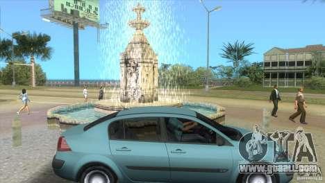Renault Megane Sedan for GTA Vice City right view