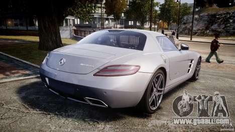Mercedes-Benz SLS AMG 2010 [EPM] for GTA 4 upper view