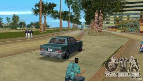Manana HD for GTA Vice City back left view