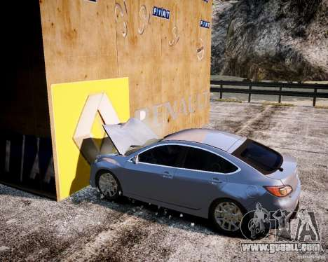 LC Crash Test Center for GTA 4 eighth screenshot