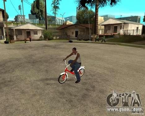 Tair GTA SA Bike Bike for GTA San Andreas