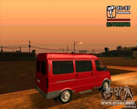 GAZ 22171 Sable for GTA San Andreas left view