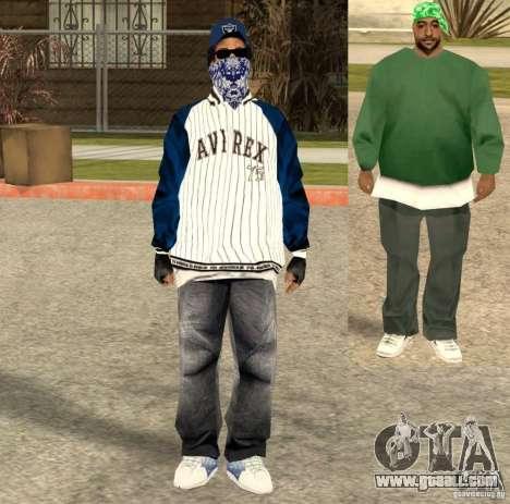 Compton Crips for GTA San Andreas