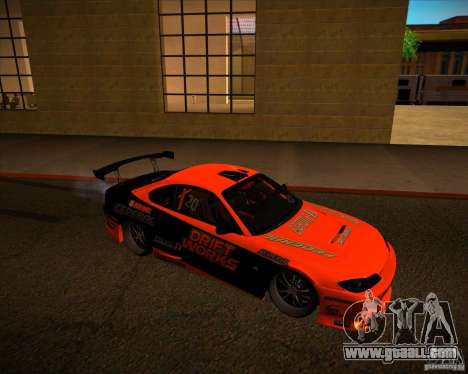 Nissan Silvia S15 Drift Works for GTA San Andreas left view
