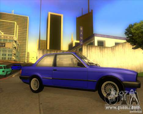 BMW E30 323i for GTA San Andreas right view