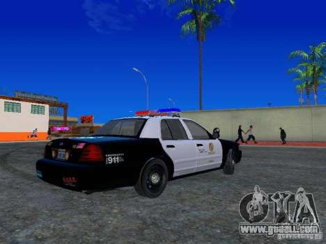 Ford Crown Victoria San Andreas State Patrol for GTA San Andreas right view