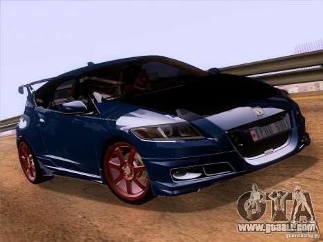 Honda CR-Z Mugen 2011 V2.0 for GTA San Andreas right view