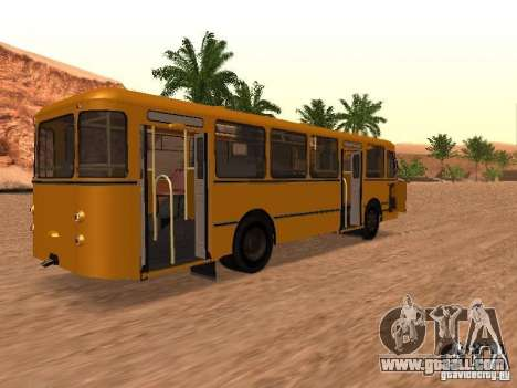New scripts for buses. 2.0 for GTA San Andreas fifth screenshot