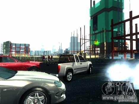 Chevrolet Colorado 2003 for GTA San Andreas back view