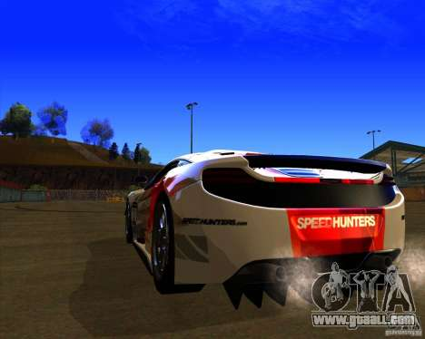 McLaren MP4 - SpeedHunters Edition for GTA San Andreas back left view