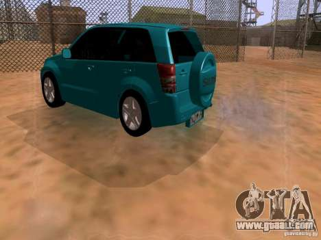 Suzuki Grand Vitara for GTA San Andreas left view