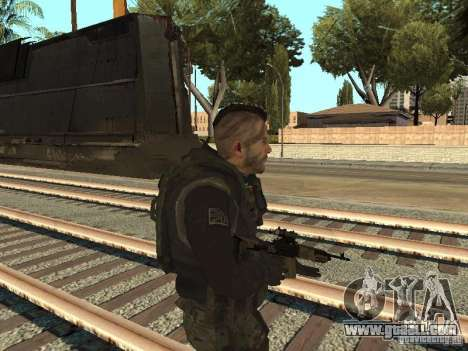 Captain MacTavish for GTA San Andreas second screenshot
