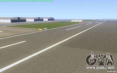 Concrete roads of Los Santos Beta for GTA San Andreas