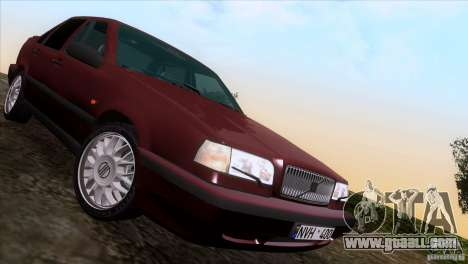 Volvo 850 Final Version for GTA San Andreas side view