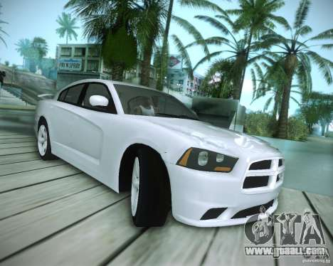 Dodge Charger 2011 v.2.0 for GTA San Andreas inner view