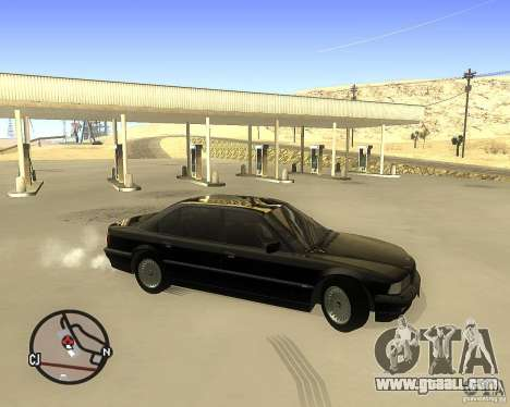 BMW 740il e38 for GTA San Andreas