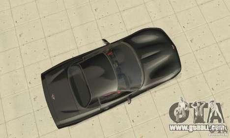 Chevrolet Corvette 5 for GTA San Andreas right view
