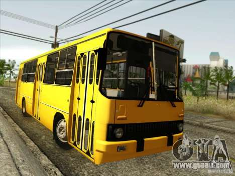 IKARUS 260 for GTA San Andreas back left view