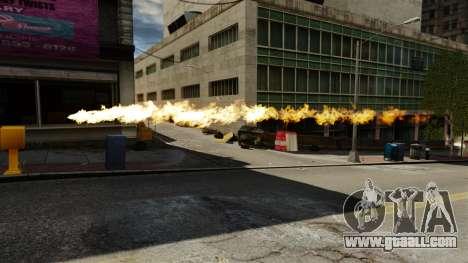 Fire in the hands of Geralt for GTA 4 third screenshot