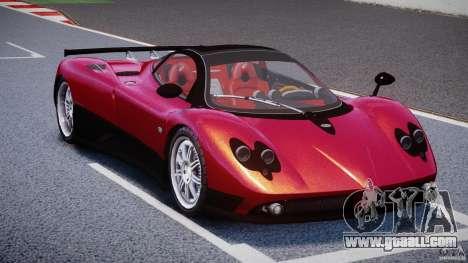 Pagani Zonda F for GTA 4