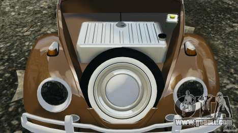 Volkswagen Fusca Gran Luxo v2.0 for GTA 4 upper view