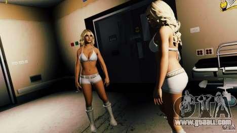 New skin PEDA (nurse) for GTA 4