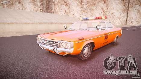 AMC Matador Hazzard County Sheriff [ELS] for GTA 4