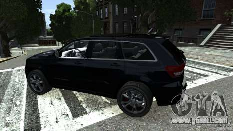 Jeep Grand Cherokee STR8 2012 for GTA 4 right view