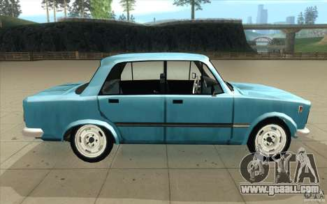 Fiat 125p for GTA San Andreas inner view