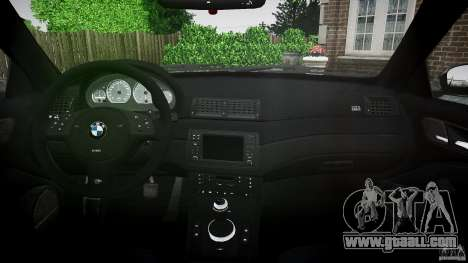 BMW M3 e46 2005 for GTA 4 right view