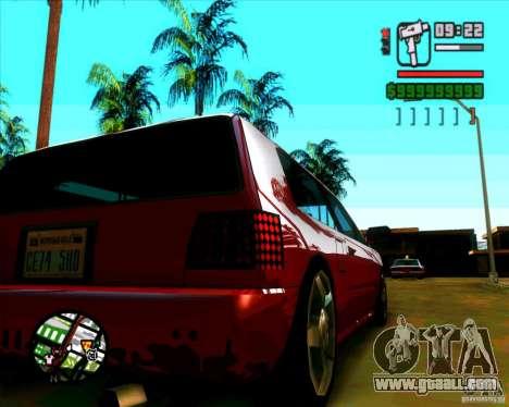 New headlights and windscreen for GTA San Andreas third screenshot