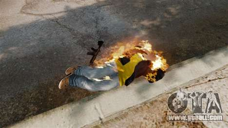 Fire bullets for GTA 4 fifth screenshot