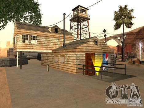 New facilities for the airport in the desert for GTA San Andreas second screenshot