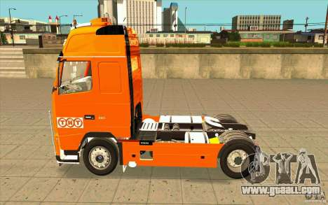 Volvo FH16 Globetrotter TNT for GTA San Andreas left view