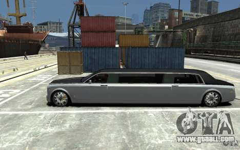 Rolls-Royce Phantom Sapphire Limousine v.1.2 for GTA 4 left view