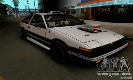 Toyota Corolla GT-S for GTA San Andreas inner view