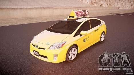Toyota Prius LCC Taxi 2011 for GTA 4
