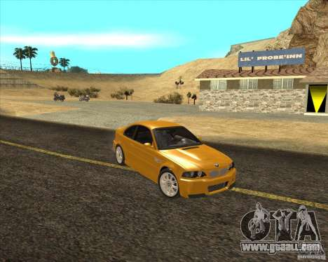 Steady turn wheels for GTA San Andreas