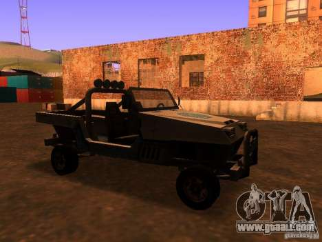 Pickup truck from T3 for GTA San Andreas left view
