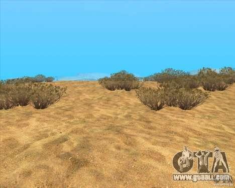 Desert HQ for GTA San Andreas third screenshot