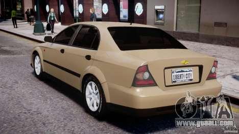 Chevrolet Evanda for GTA 4 right view