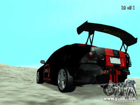 Toyota Altezza NKS Drift for GTA San Andreas left view