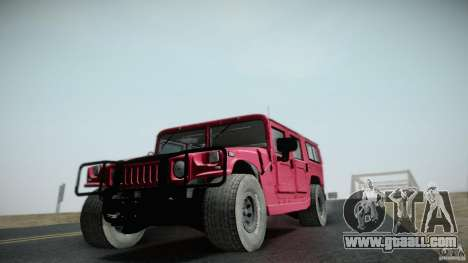 Hummer H1 Alpha Off Road Edition for GTA San Andreas back view