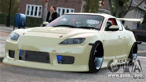Mazda RX-8 Mad Mike for GTA 4 left view