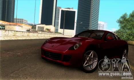 Ferrari 599 GTB Fiorano for GTA San Andreas