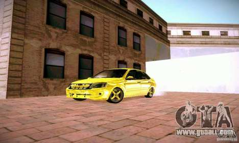 Lada Grant GOLD for GTA San Andreas back view