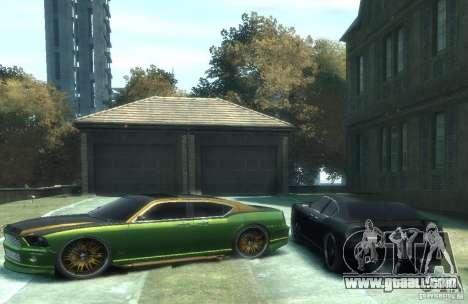 Civilian Buffalo DUB Edition v3.0 for GTA 4 left view
