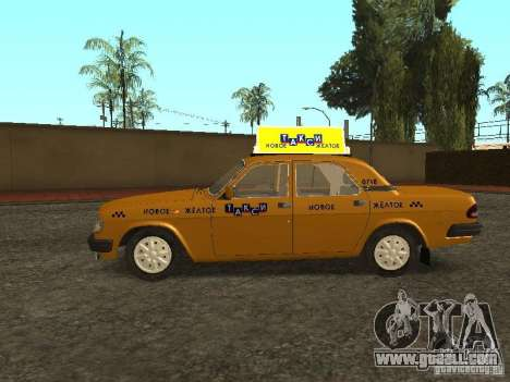 GAZ 3110 Taxi for GTA San Andreas left view