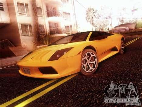 Lamborghini Murcielago Roadster for GTA San Andreas right view